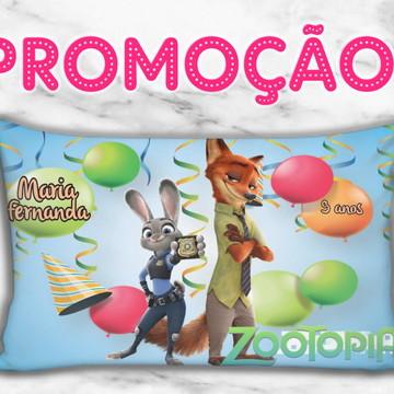 Almofada personalizada zootopia