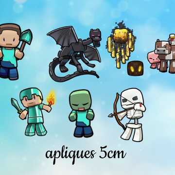 50 Apliques Minecraft