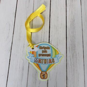 Tag Agradecimento Festa Balão Menino
