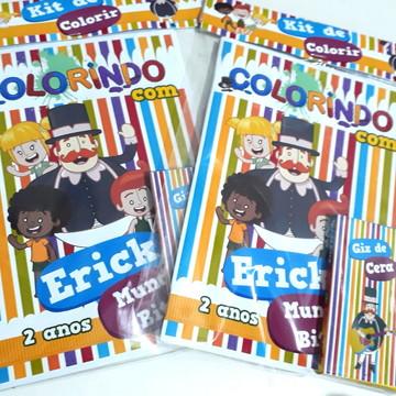 Kit de colorir Mundo Bita