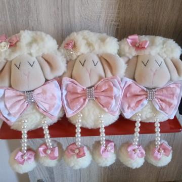 Trio de Ovelhas Baby - Família de ovelha