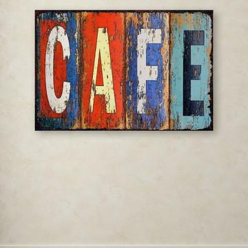 Quadro Decorativo GRANDE Café Colours
