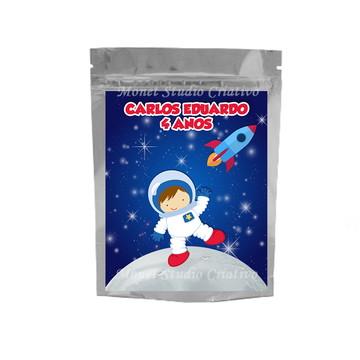 Saquinho Metalizado - Astronauta