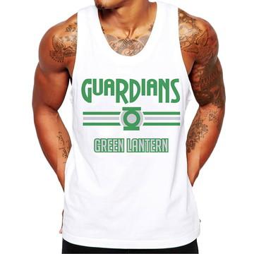 Camiseta Regata Masculina Fitness Guardian Green Lanterna