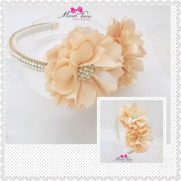 Tiara luxo de flores