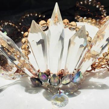 coroa de cristal egípcio