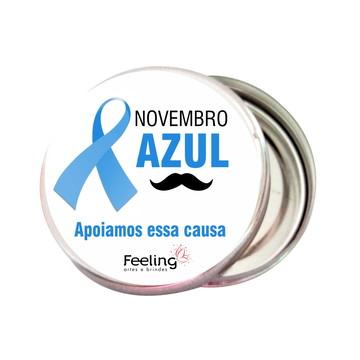 LATINHA NOVEMBRO AZUL - CANCER DE PROSTATA