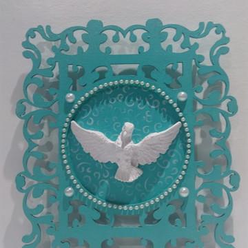 Plaquinha Decorativa Espirito Santo