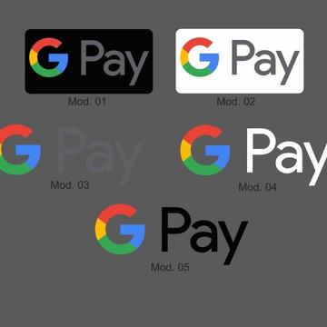 Adesivo Google Pay Pagamento Por Aproximação Nfc Cartão