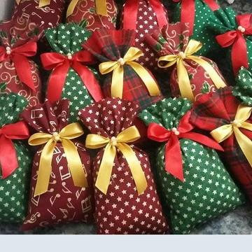 Sachê de Natal perfumado Lembrancinha