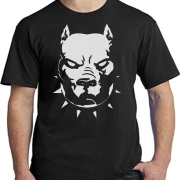 Camiseta Personalizada Cachorro Pitbull - Mega Promoção!