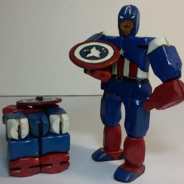 Capitão América Gepeto