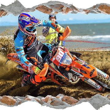f2eb89495 Adesivo Parede Buraco Motocross Moto X Esporte Radical 3d