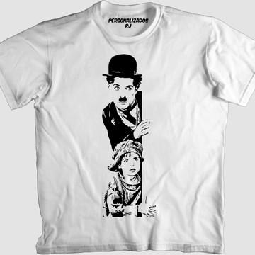 Camisa CHARLIE CHAPLIN - O GAROTO - THE KID