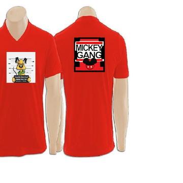4980f87c56 Camisetas personalizadas 100% poliéster gola em V
