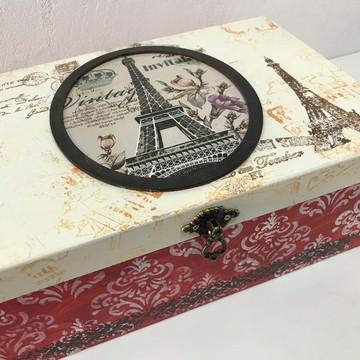 Caixa Porta Documentos Paris