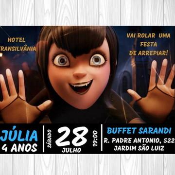 Convite Digital - Hotel Transilvania
