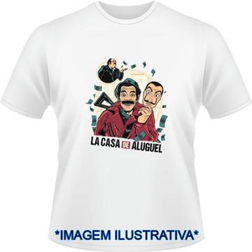 Camiseta La Casa de Papel Seu Madruga La casa de Aluguel