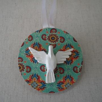 Mandala para Árvore de Natal: Frente e Verso Divino e Anjo