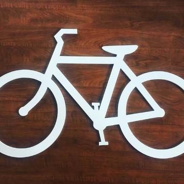 Escultura Bike MDF