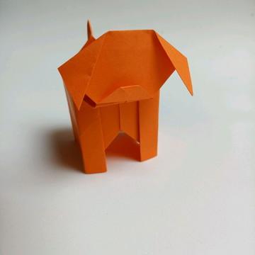 Cachorro   Forminha para doces em Origami
