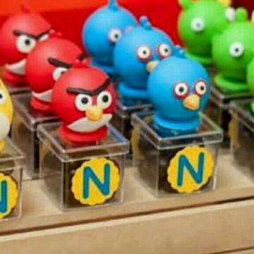 Caixinha Angry bird biscuit