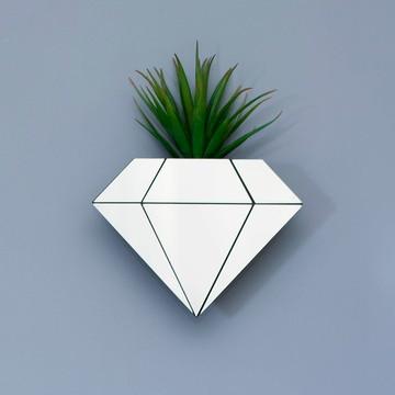Vaso de Plantas Diamante Espelhado
