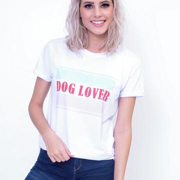 Camiseta Feminina Dog Lover