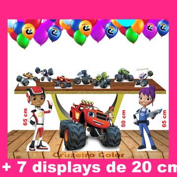 Totem Blaze Monster Machine cm e Display de Mesa 65,50,20