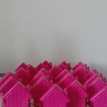 Casinha miniatura para parede ou aromatizador