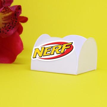 Forminha para doce com aplique - Nerf