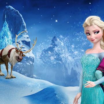 Painel Festa Infantil Frozen