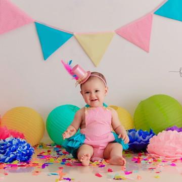 "Kit ""Smash the Cake"" - Circo Rosa"