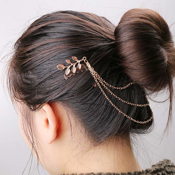 Acessório de Cabelo Headband Folhas