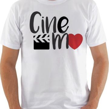 Camiseta Camisa Cinema Amo