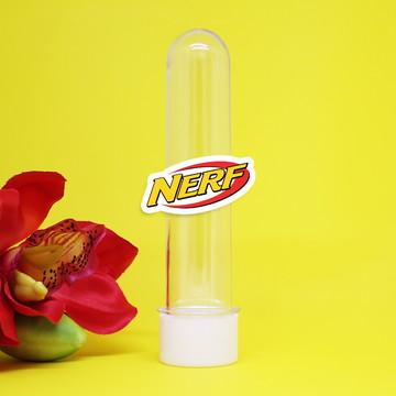 Tubete com aplique - Nerf