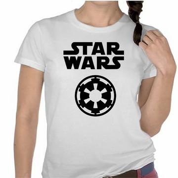 Camiseta Star Wars Império Galactico Personalizada Star Wars