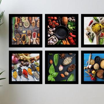 Quadros Decorativo Cozinha - Tempero