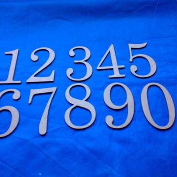 RECORTE NUMEROS 12 cm