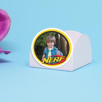 Forminha para doce com foto - Nerf