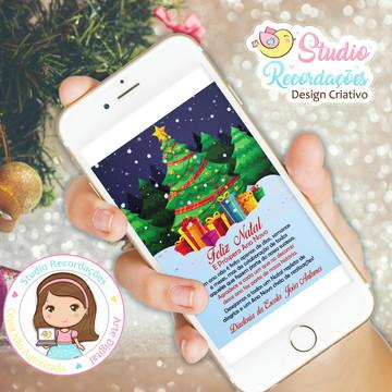 Cartões digital Feliz de Natal e Ano Novo - Dimona