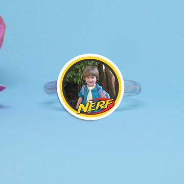 Porta-guardanapo individual com foto - Nerf