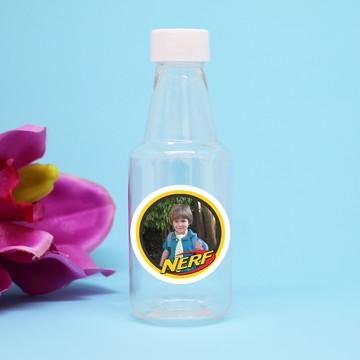 Garrafinha de plástico com foto - Nerf