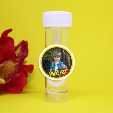 Tubo bolha de sabão com foto - Nerf