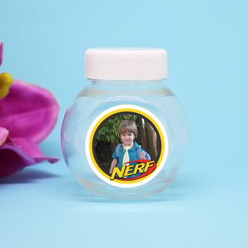 Mini-baleiro de plástico com foto - Nerf