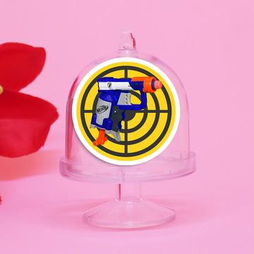 Mini-cúpula com aplique - Nerf