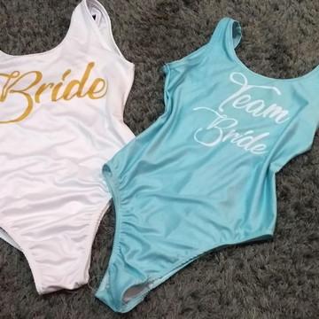 Body para Ensaio Pré Wedding /Noiva e Madrinha