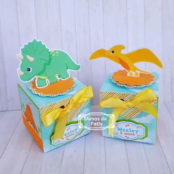 Caixa cubo dinossauros baby