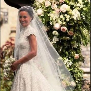 Lindo Véu de Noiva - 1,5 m - Branco