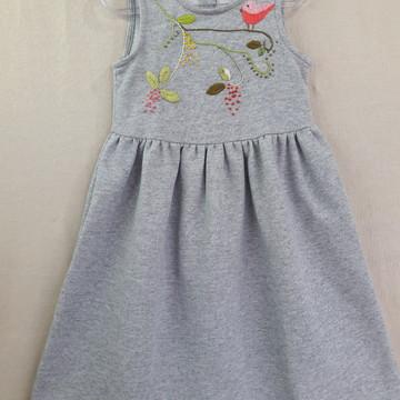 985f37a2e5 Vestido Bordado Infantil